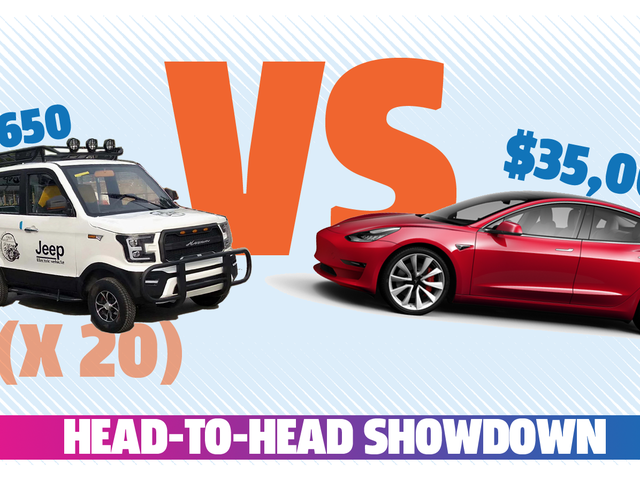 Σύγκριση: Tesla μοντέλο 3 εναντίον 20 κινεζικών EVs που μοιάζουν με Ford Raptors, αλλά έχουν «τζιπ» επάνω τους