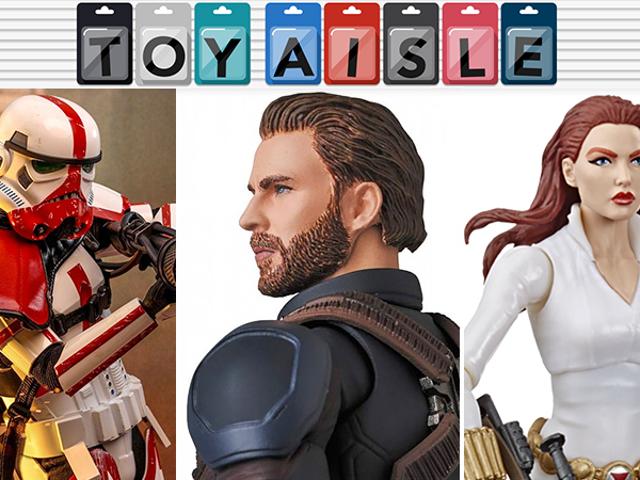 Avengers: Infinity War ger oss en bättre Captain America-figur och veckans mer underbara leksaker