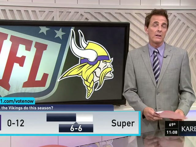 このミネアポリスのテレビ局は、NFLシーズンにいくつのゲームが行われているのか知っていますか?