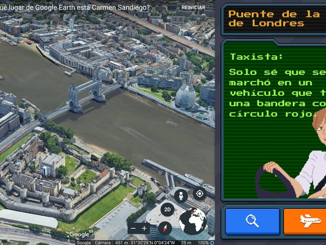 El minijuego de Carmen Sandiego oculto en Google Earth es sencillamente genial