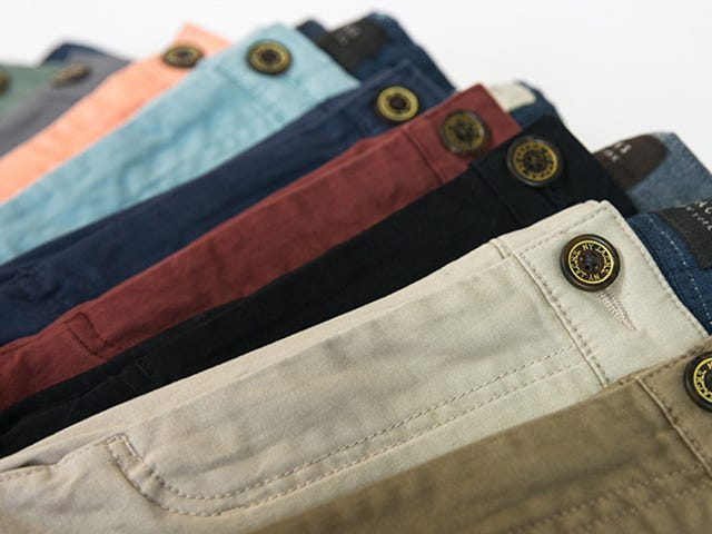 Step Into A Pair Of Soft, Comfortable Chinos From Jachs For Just $36 (60% Off)
