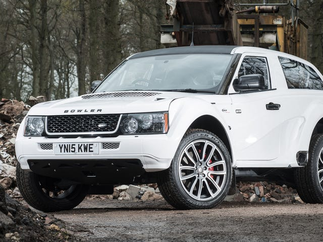 U moet deze Range Rover nu op alle steroïden kopen