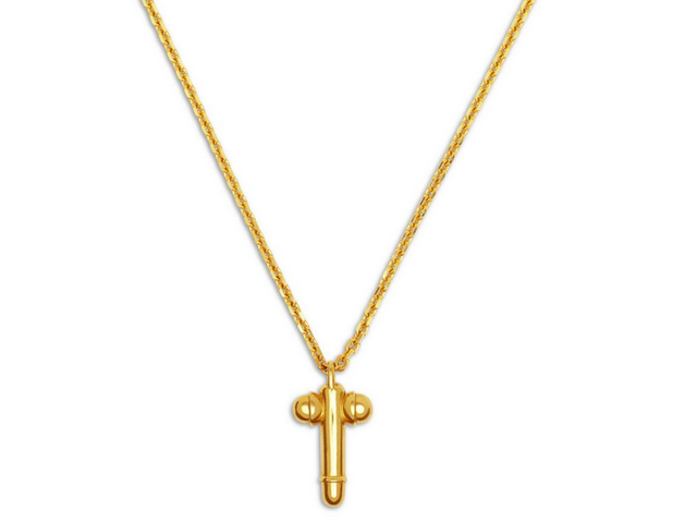 Catholic Group So, So Mad About Tom Ford's Cross-Shaped Dick Pendant