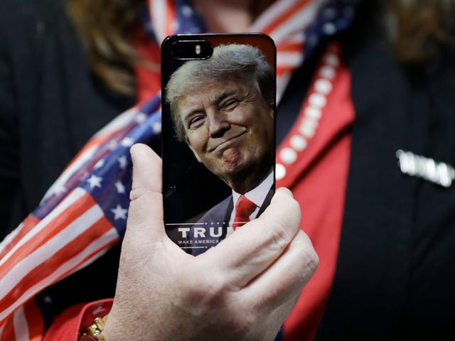 Russia and China Are Spying on Trump Because He Refuses to Use Secure iPhones