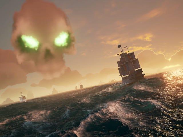 Laut Pencuri Telah Tiba-tiba Menjadi Satu Daripada Permainan Terbesar Twitch