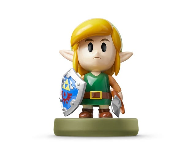 The remake of Link's Awakening is getting its own Amiibo, and, well, just look at this guy