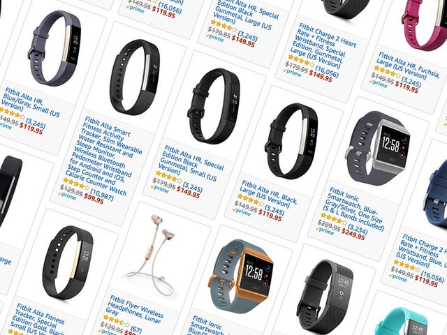 Ρυθμίστε την καρδιά σας με έναν ολόκληρο σχιστόλιθο των εκπτώσεων Fitbit