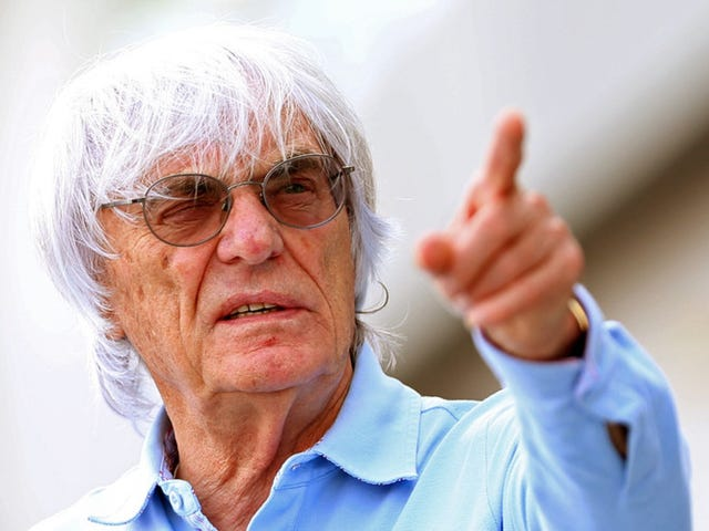 Ecclestone says F1 promoters pay too much, grass is green