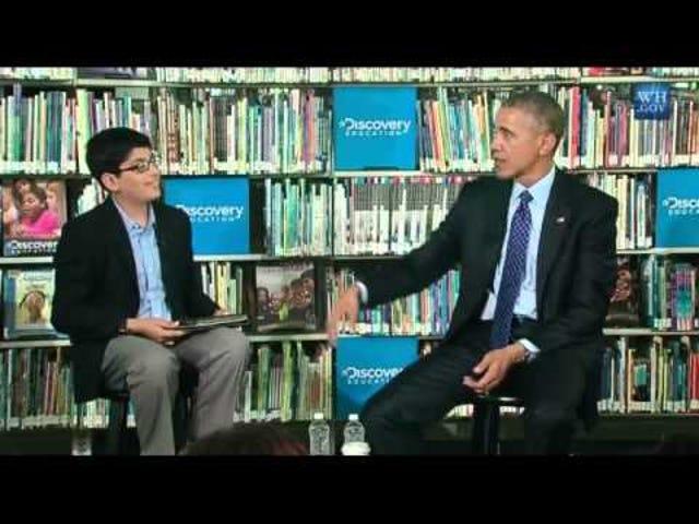 Kanak-kanak yang terganggu Obama Hanya Ingin Dapatkan Outta Di Sini Sebelum Makan Siang