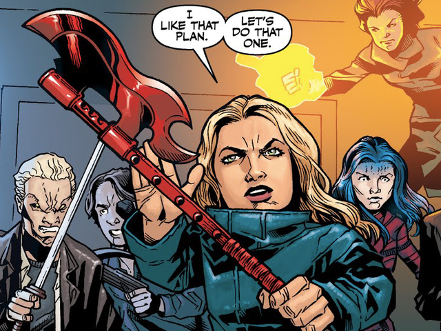 After Dark Horse's Buffy The Vampire Slayer Comic Ends, Fox Will Own the Rights