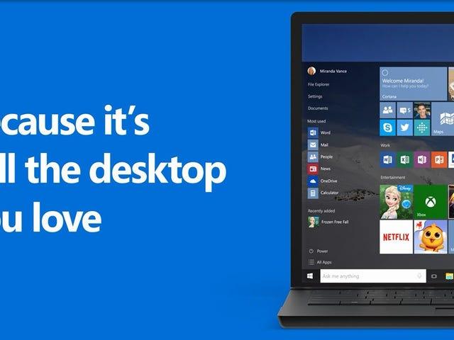 Windows 10, 29 Temmuz'da Geliyor