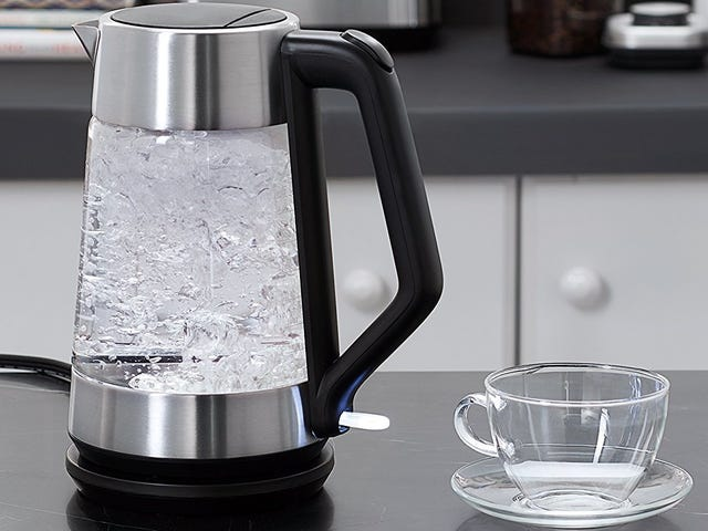 This $64 Electric Kettle Can Basically Double as Modern Art