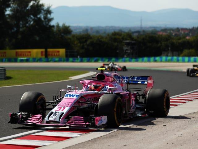 Force India F1 menettää otsikkopisteet ja muuttaa nimensä juuri ennen Belgian suurpalkintoa