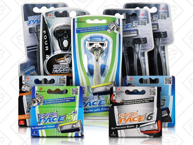 Save $27 On Dorco's Fall Bonanza Shaving Pack [Exclusive]