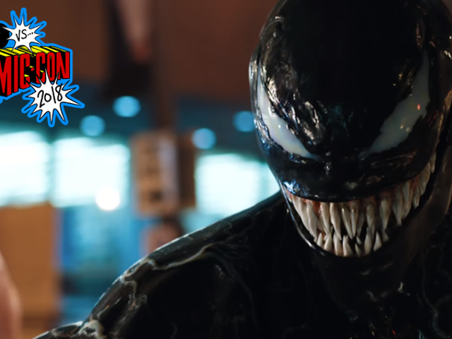 Venom Came to Comic-Con and Revealed Its Symbiotic Villain