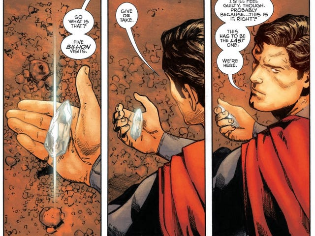 Read Tom King and Clay Mann's Story for Action Comics #1000