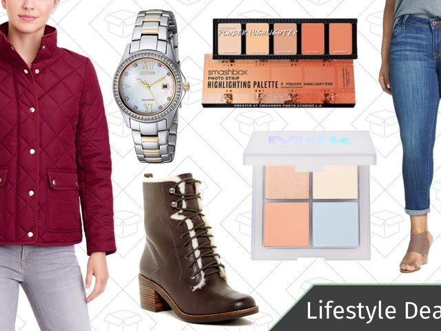 Thursday's Best Lifestyle Deals: Watches, Sephora, J.Crew Factory, Lucky Brand, and More