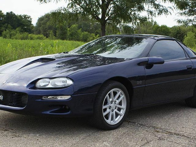 At $13,750, Will This 2000 Chevy Camaro SS Blow You Away?