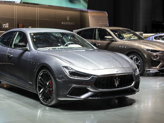 Maserati Details Electrification Plan, Hedges With Gasoline Options