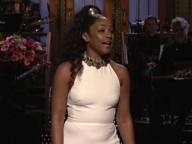 Tiffany Haddish Kills Louis C.K. on SNL:Keep Your 'Thang-Thang' in Your Pants Until She Takes Her Clothes Off, Mkay?