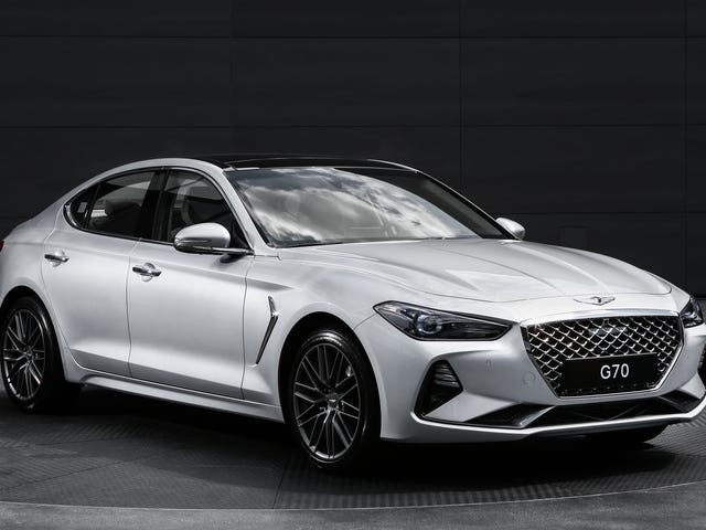Unlike The Kia Stinger The 2019 Genesis G70 Will Get A Manual