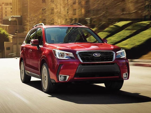 You Can Get A Bonkers Deal On A New Subaru Right Now