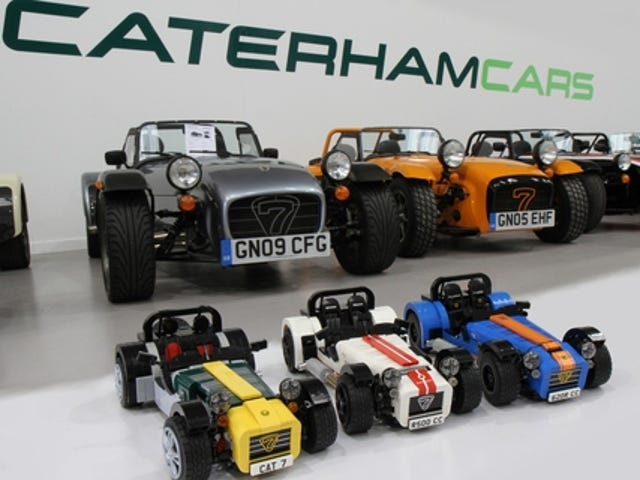 Please Support the Caterham Lego Set Project