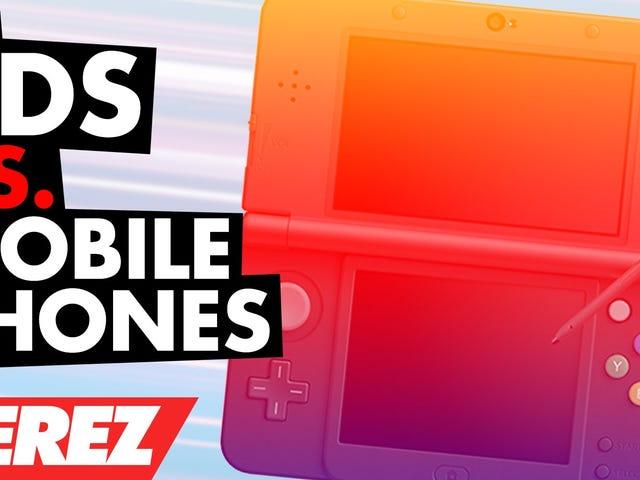 3DS Vs. Mobile Phones!