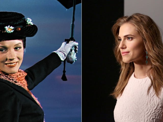 Is Allison Williams Gunning to Play Mary Poppins?