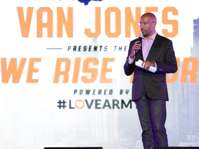 Guarda in tensione: Van Jones 'ci sorprende contro l'odio Tour a Nashville, Tenn.