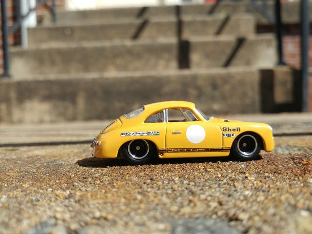 #CDCustomcontest Entry: A Vintage Racing Circuit  Veteran Porsche 356B