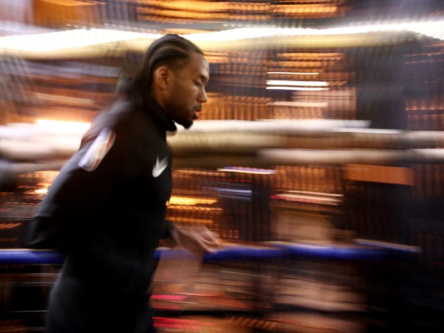 Kawhi Leonard Signs For Only Two Guaranteed Years With Clippers, Can Continue Wandering The Barren Plain, Searching, Always Searching