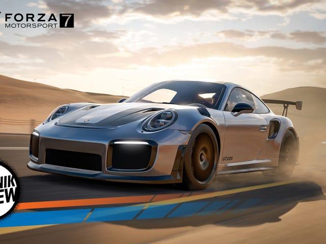 Forza Motorsport 7 jest olśniewający, nieprzewidywalny i sprawi, że będziesz chciał jeździć wszystkimi 700 samochodami