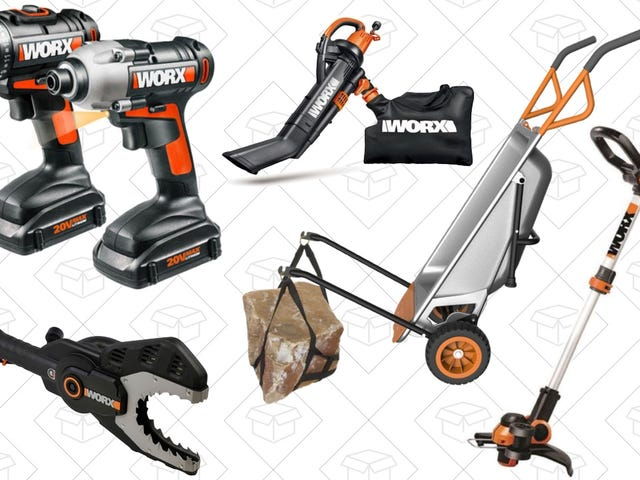 Get Ready For Spring Yard Work With 20% Off Worx's eBay Outlet