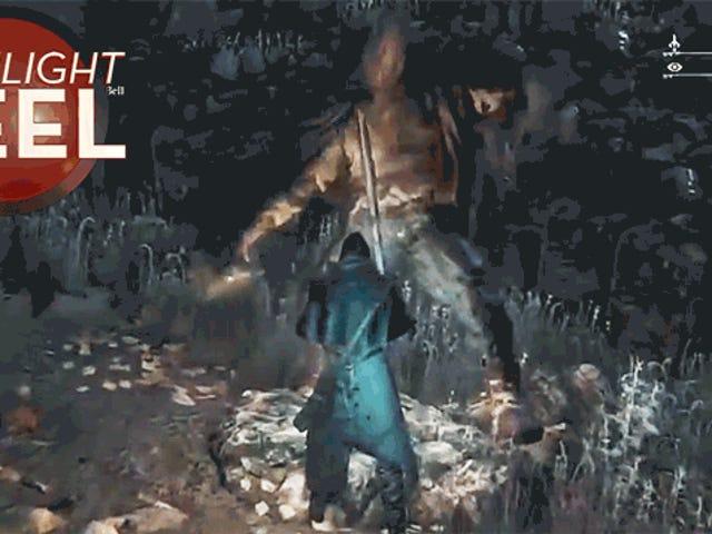 Quái vật <i>Bloodborne</i> không thể ngừng nhảy