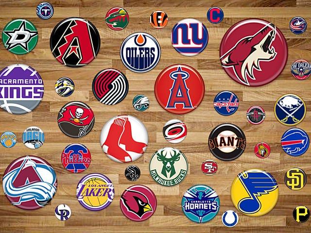 Xếp hạng các Logo tốt nhất trong bốn môn thể thao chính - Phần II (Không quá tệ)