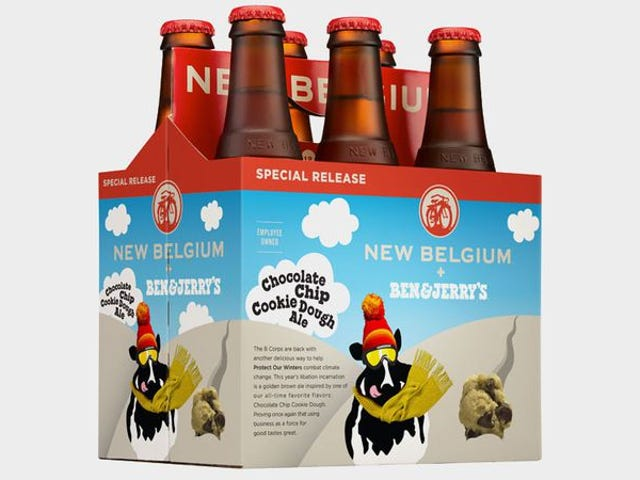 Ben & Jerry's chocolate-chip cookie dough beer is unnecessary, but intriguing