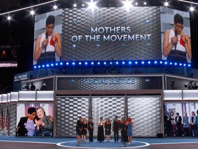 Watch the Mothers of the Movement's Powerful DNC Message: 'I Did Not Want This Spotlight'