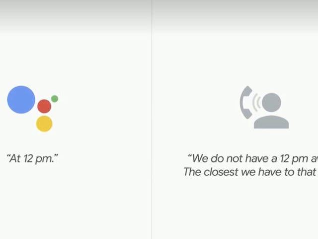 Google schwört seinen Duplex-AI-Assistenten wird Ihnen sagen, es ist ein Bot Calling <em></em>