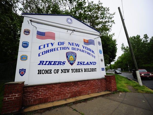 Tedavi Edilmemiş Ülsere Öldüren Rikers Ada Ailesinin Ailesi, 1.500.000 Dolarlık Uzlaşma Yaradı