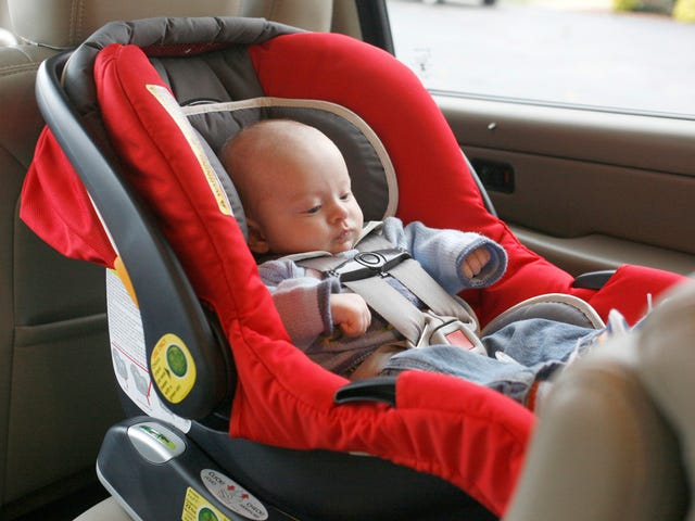 Stop Letting Your Baby Sleep in a Car Seat Outside the Car