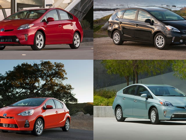 The Plural Of Prius Is Actually 'Prii,' According To Toyota