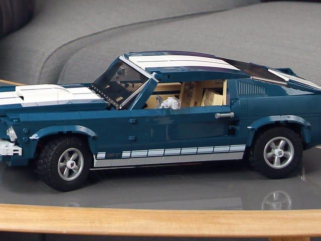 Om du inte kan tilltala en riktig 1967 Ford Mustang finns det alltid denna Lego-version
