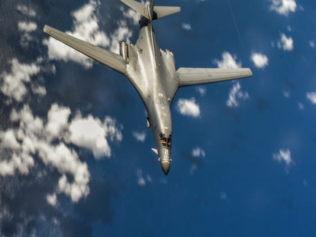 B-1B Lancer: The Bone In Guam and Visiting North Korea