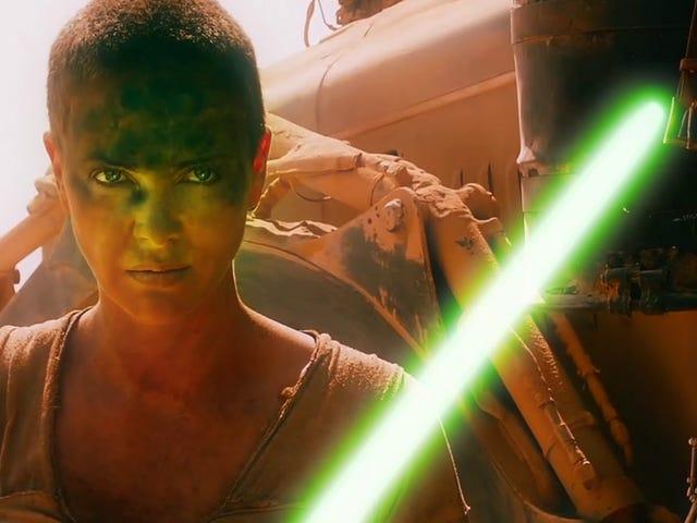 Impresionante vídeo que reúne en un mismo universo a «Mad Max» y «Star Wars»
