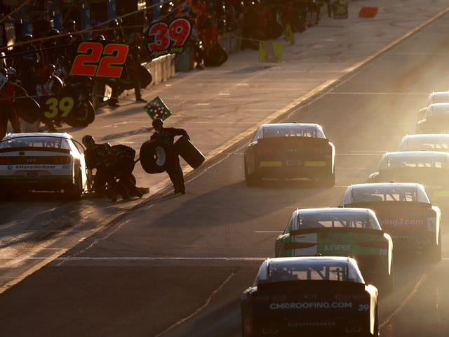 Pit Stops In NASCAR's Two Lower Divisions Are About To Get A Whole Lot More Complicated