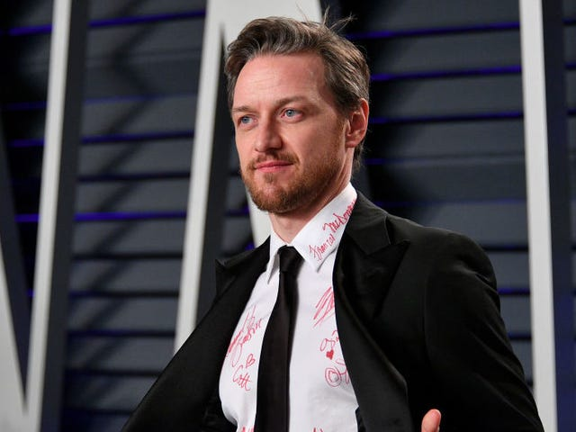 James McAvoy is selling the shirt he wore to the Oscars