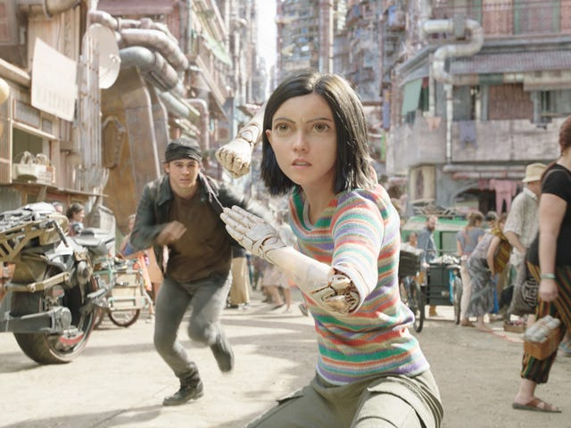 Those unexpected famous people are in Alita: Battle Angel just to set up a sequel