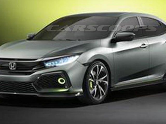 Το 2017 Honda Civic Hatch Concept φαίνεται έτοιμο για μια μέρα κομματιού