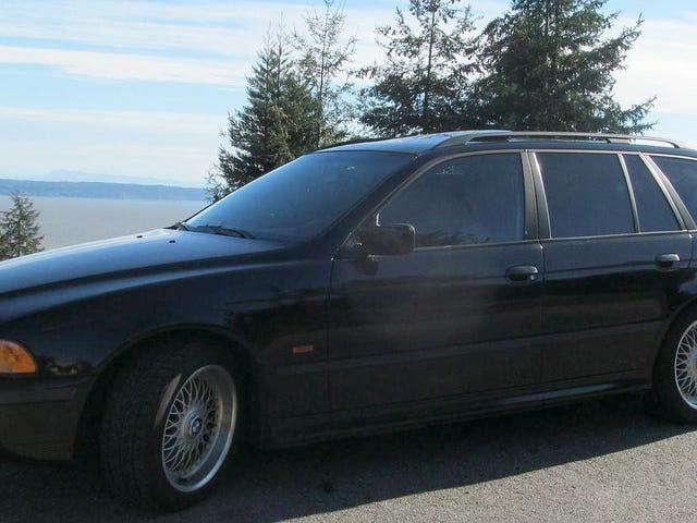 Por $ 6,900, ¿podría este BMW BMW 528i Touring 1999 demostrar que menos es más?